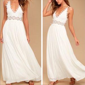 Lulu's This Is Love Maxi Dress